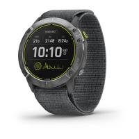 GARMIN ENDURO Steel/Gray UltraFit Nylon Strap