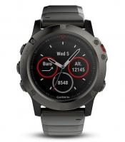 GARMIN FENIX 5X Sapphire Gray Optic, Metal band