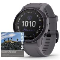 GARMIN FENIX 6S PRO Solar, Amethyst/Shale Band (MAP/Music)