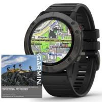 GARMIN FENIX 6X PRO Solar, Titanium Gray DLC/Black Band (MAP/Music)