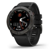 GARMIN FENIX 6X Solar, TitaniumGrayDLC/Black Band (MAP/Music)