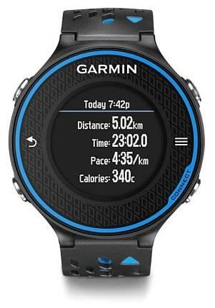 GARMIN FORERUNNER 620 HR Run Black