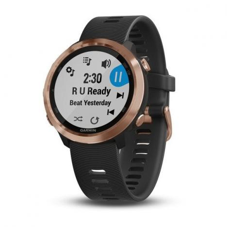 GARMIN FORERUNNER 645 Music Rose Gold, Black band