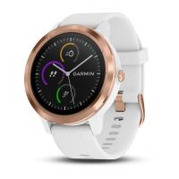 GARMIN VIVOACTIVE 3 Optic Rose Gold, White band