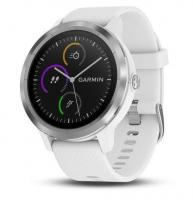 GARMIN VIVOACTIVE 3 Optic Silver, White band