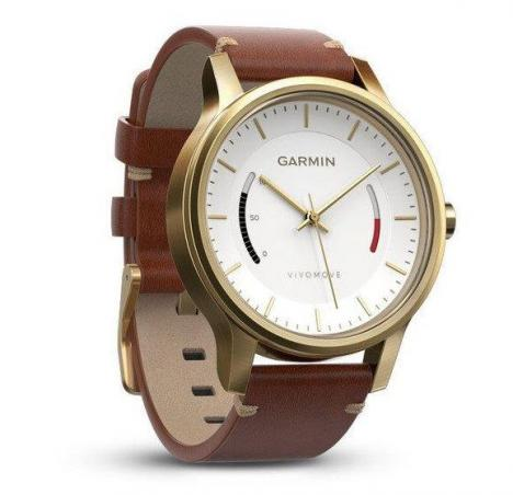 GARMIN VIVOMOVE PREMIUM Gold Tone Steel