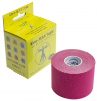 KINEMAX SUPERPRO COTTON TAPE růžová 5 m